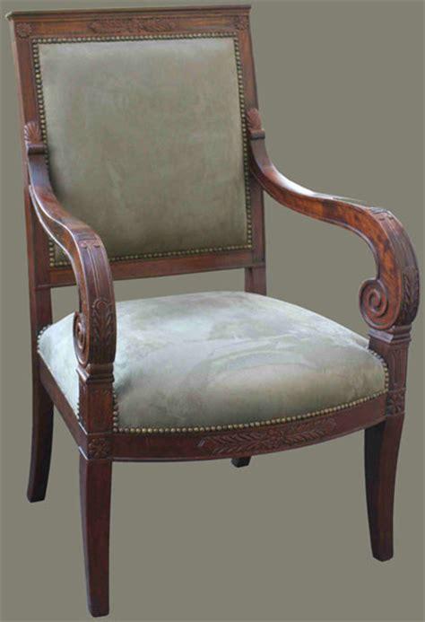fauteuil empire reproduction de fauteuils style empire de b