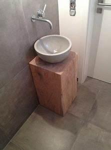 Waschbecken Gäste Wc : beton waschbecken g ste wc beton cire pinterest ~ Michelbontemps.com Haus und Dekorationen
