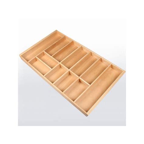 range couverts tiroir cuisine range couverts bois pour tiroir de 900 mm de large