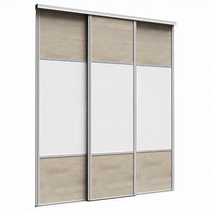 Portes Coulissantes Placard : placard 3 portes coulissantes double porte coulissante ~ Dallasstarsshop.com Idées de Décoration
