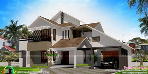 lakhs cost estimated modern home kerala home design