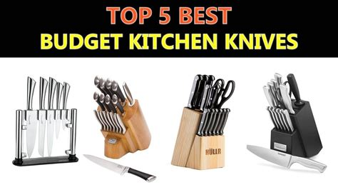 knives budget kitchen