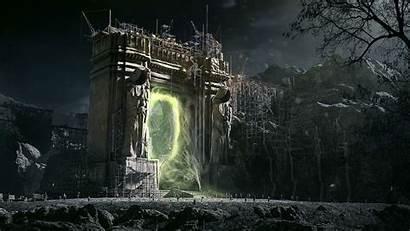 Warcraft Beginning Fantasy Warrior Wallpapers Action Adventure