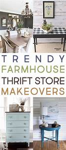 Trendy, Farmhouse, Thrift, Store, Makeovers