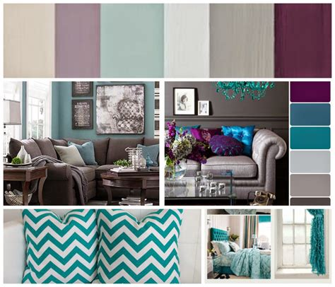 Purple Grey And Turquoise Living Room by Just Call Me Sparkles Living Room Ideas