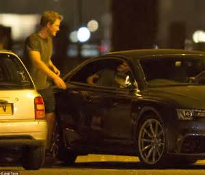 prince harry takes delivery  mph audi  daily