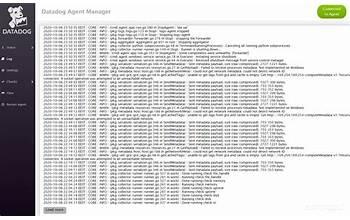 Datadog Agent Manager screenshot #1
