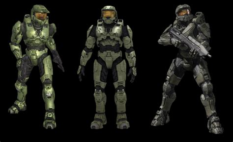 Chief's armor is colored/textured all wrong