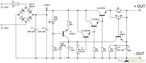 Transistors How Does This Power Supply Circuit Work