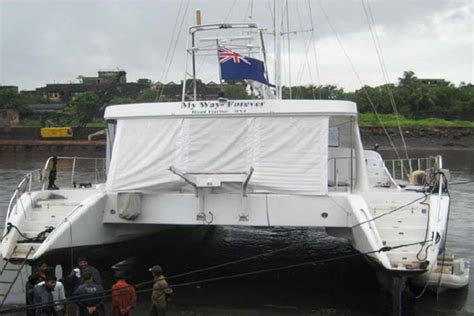 Catamaran Refit Cost by Yacht Refit And Repair Services India Colaba Workshop