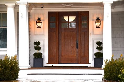 front entrance outdoor lighting column lighting outdoor entry beach style with outdoor