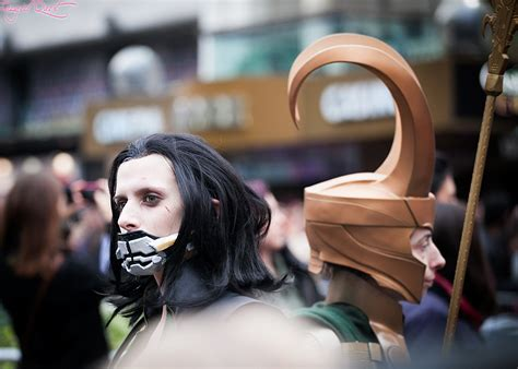 Loki Cosplay Competition At The Premiere Of Thor The Dark