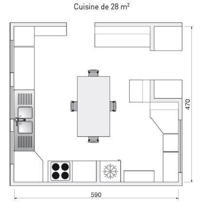 dessiner un plan de cuisine dessiner plan cuisine maison françois fabie