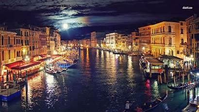 Venice Italy Night Desktop Wallpapers Venetian Backgrounds
