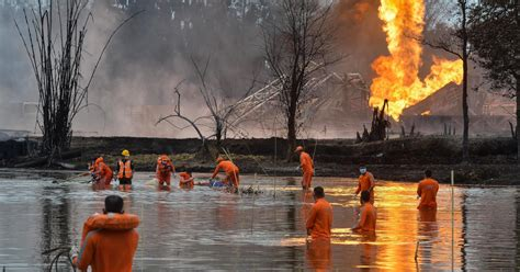 After Assam oilfield fire, a central agency sought a ...