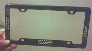 Infrared Leds Protect Your License Plate Number From