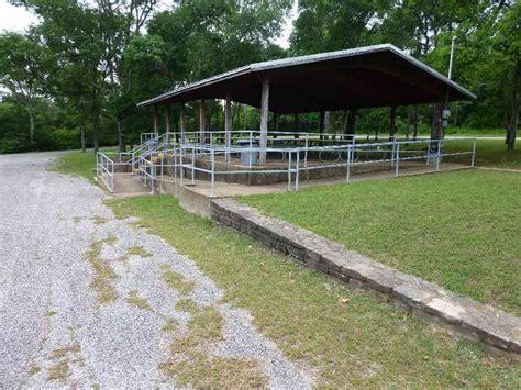 eisenhower state park group picnic pavilion texas parks