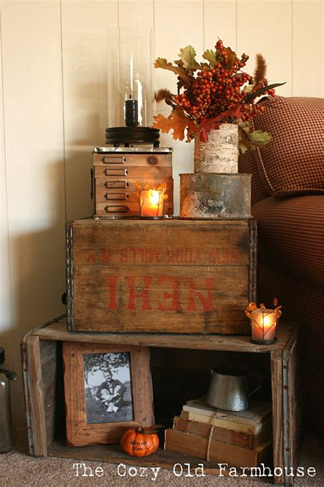 Decorating Ideas With Crates by Junk 208 Funky Fall Decoratingfunky Junk Interiors
