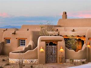 Southwest-Style Pueblo Desert Adobe Home | Adobe ...