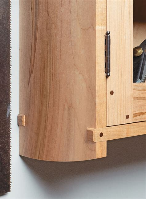 wall mounted tool cabinet woodworking project