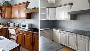 Cuisine Repeinte En Blanc : quelle peinture pour r nover ma cuisine ~ Melissatoandfro.com Idées de Décoration