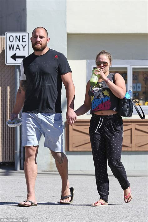 Ronda Rousey Boyfriend Suzuki by Ronda Rousey Spotted After Miesha Tate Branded