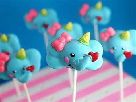 elephant cake pop valentines bakerellacom