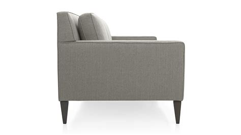 crate and barrel mid century sofa rochelle mid century modern sofa crate and barrel