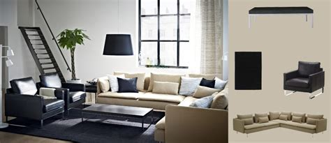 Poltrona Ikea Mellby : SÖderhamn Corner Sofa With Replösa Beige Cover, Mellby