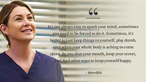 14 'Grey's Anatomy' Quotes That Give Us Life | Faculty of ...