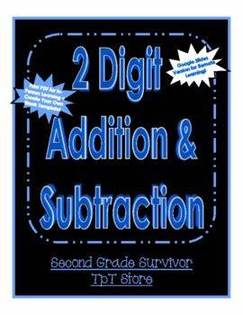If you need some more 2 digit addition worksheets, or want to practice more column addition with regrouping, then take a look at our column addition worksheet generator. Double Digit Addition and Subtraction with Regrouping - 2 ...