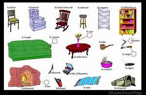 Les Meubles De Maison : les meubles la maison pinterest fle vocabulaire et logement ~ Teatrodelosmanantiales.com Idées de Décoration