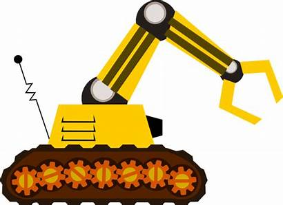 Machine Clip Claw Clipart Robot Clker Vector