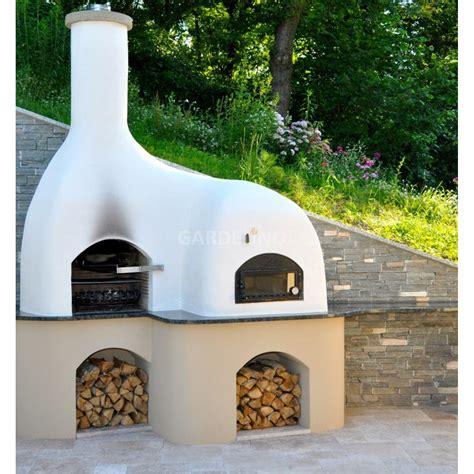 grill selber bauen stein grill pizzaofen kombination selbst bauen
