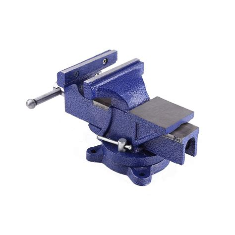 """5"""" Inch Steel Heavy Duty Bench Vice Tool Grip Clamp & Free"""