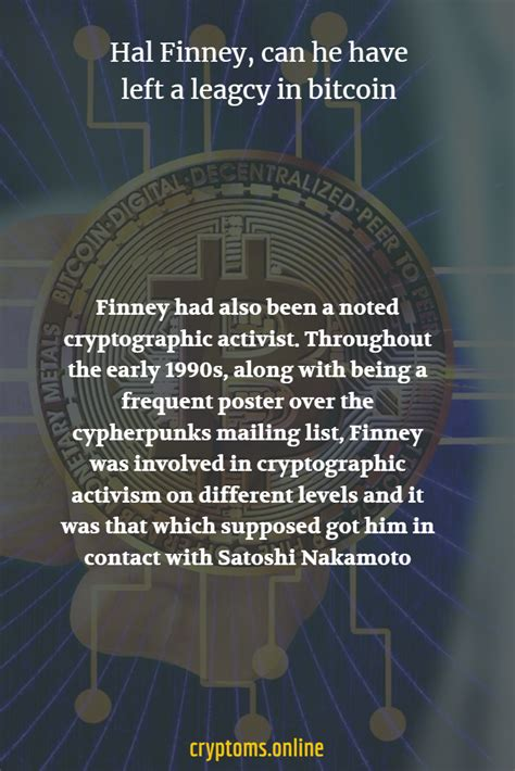 Hal was born in the coalinga region within california back in 1956. Hal Finney, can he have left a leagcy in bitcoin at   Bitcoin transaction, Gaming computer ...