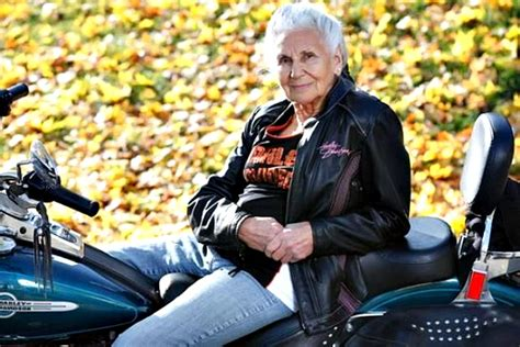 She Rode Her First Motorcycle In 1941. 74 Years Later, 90