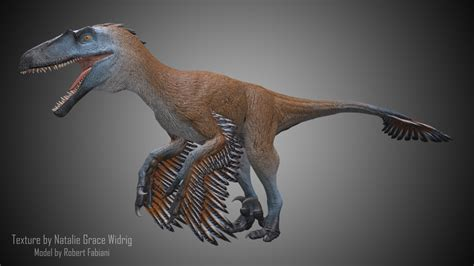 artstation dakotaraptor skins natalie widrig