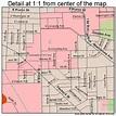 Ann Arbor Michigan Street Map 2603000