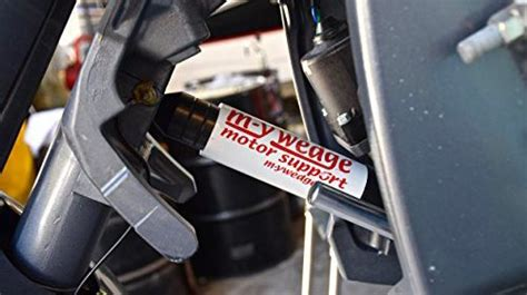 Yamaha Outboard Motor Travel Support by M Y Wedge Outboard Transom Saver Trailering Support Motor