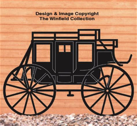 vehicles stagecoach shadow woodcrafting pattern