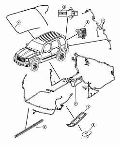 2010 Dodge Grand Caravan Cover  Wiring Protector  Export   Export Equipment Group   Drb