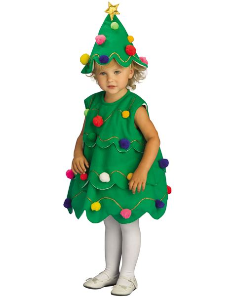 toddler christmas costume little christmas tree dress with
