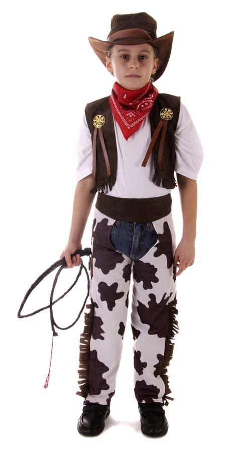 Cowboy Cowgirl Childrens Kids Boys u0026 Girls Fancy Dress Costume Party 2-12 Years   eBay