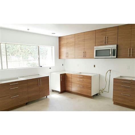 progress shot   flatsawn walnut ikea kitchen