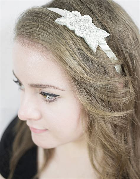 diy bridal hair band do it yourself set diy hair band from gogoritas 174 made with swarovski elements wedding at