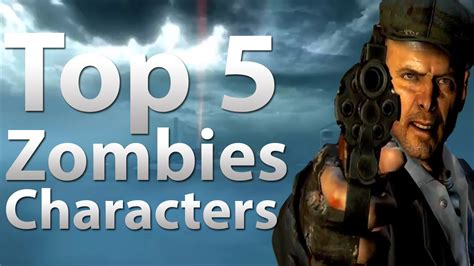top  characters  call  duty zombies black ops