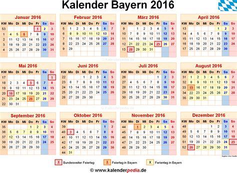 kalender bayern ferien feiertage excel vorlagen