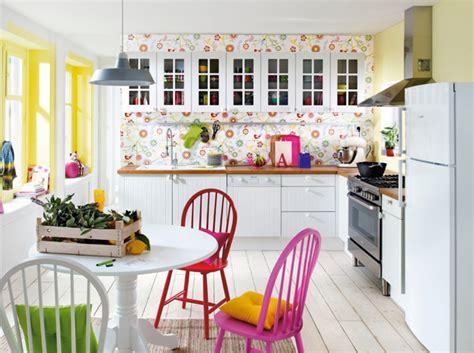 papier peint cuisine original craquez pour une cuisine originale décoration