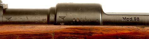 1944 Dated Mauser Byf Coded K98 Kreigsmodell Axis